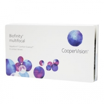 2x Biofinity  Multifocal 6er Box + Pflegemittel
