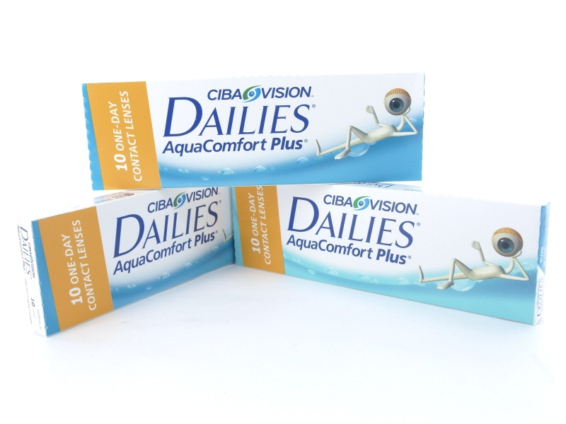 Dailies Aqua Comfort plus, 3 x 10er Box
