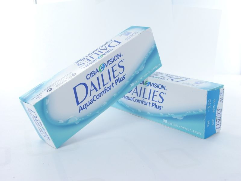 Dailies Aqua Comfort plus, 2x30er Box