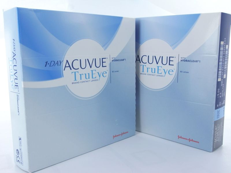 1-Day ACUVUE TruEye, 90er Box