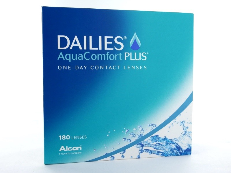 Dailies Aqua Comfort Plus, 180er Box