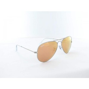 Ray Ban - RB3025 - 019/Z2 - 58 - Silver/ Brown Mirror Pink